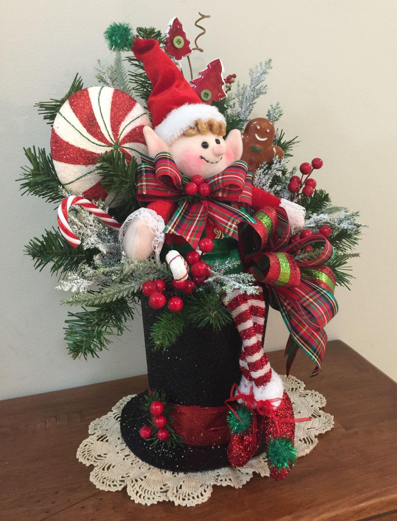 arreglo navide o deco navidad r stica centros navidad