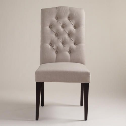 Beautiful Gray Tufted Dining Chairs Products We Love