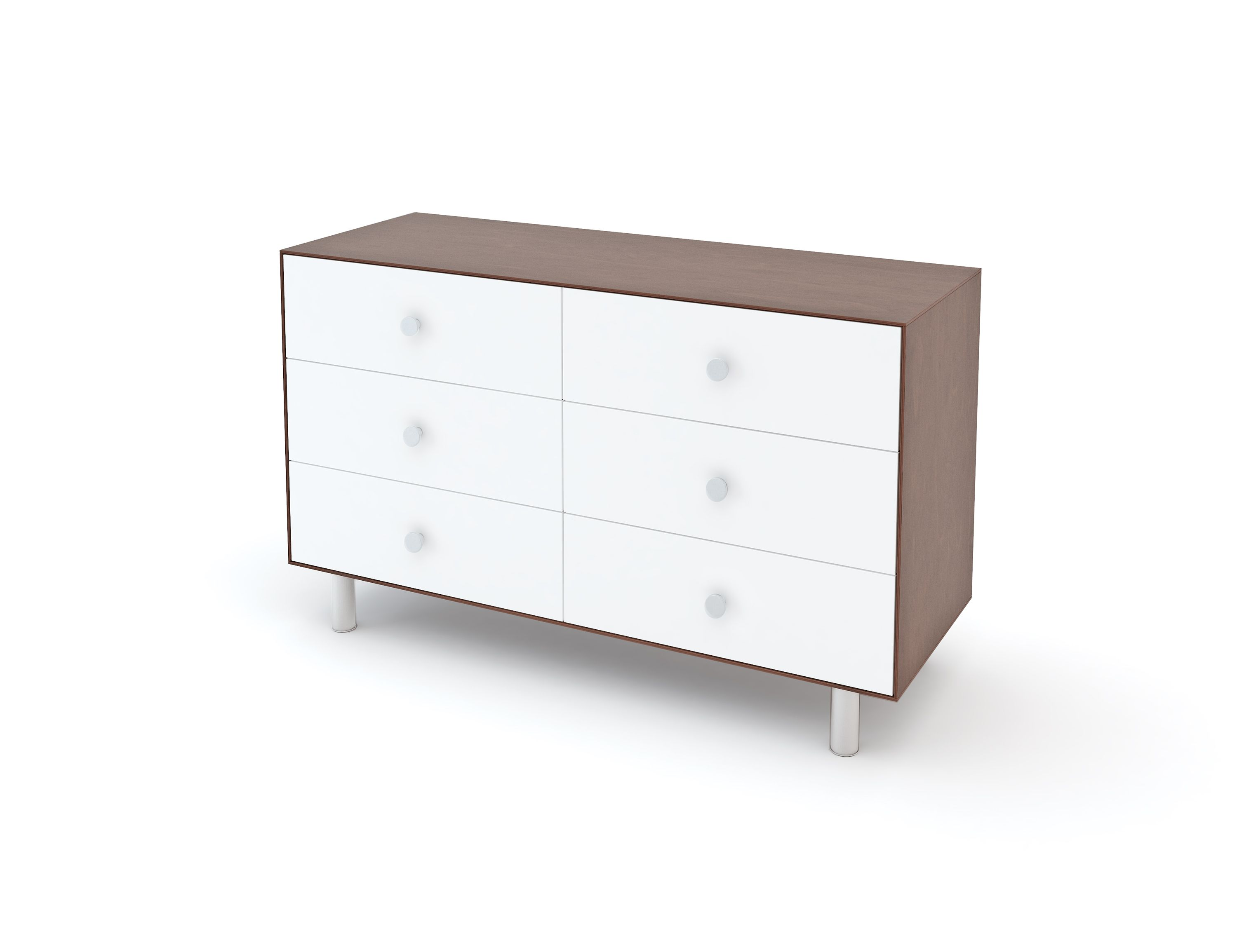 Classic large merlin drawers dresser by oeuf nyc in walnut