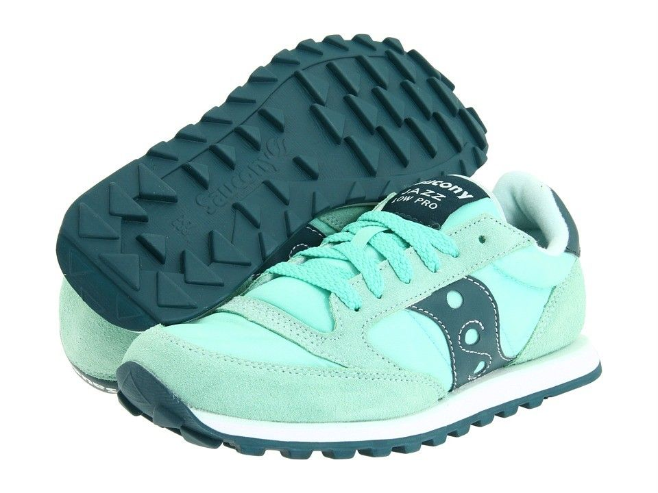 Saucony Jazz Low Pro Blue Green Silver | Womens Originals