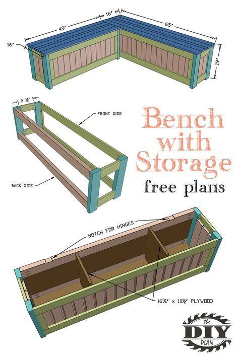 How to Build a DIY Corner Storage Bench