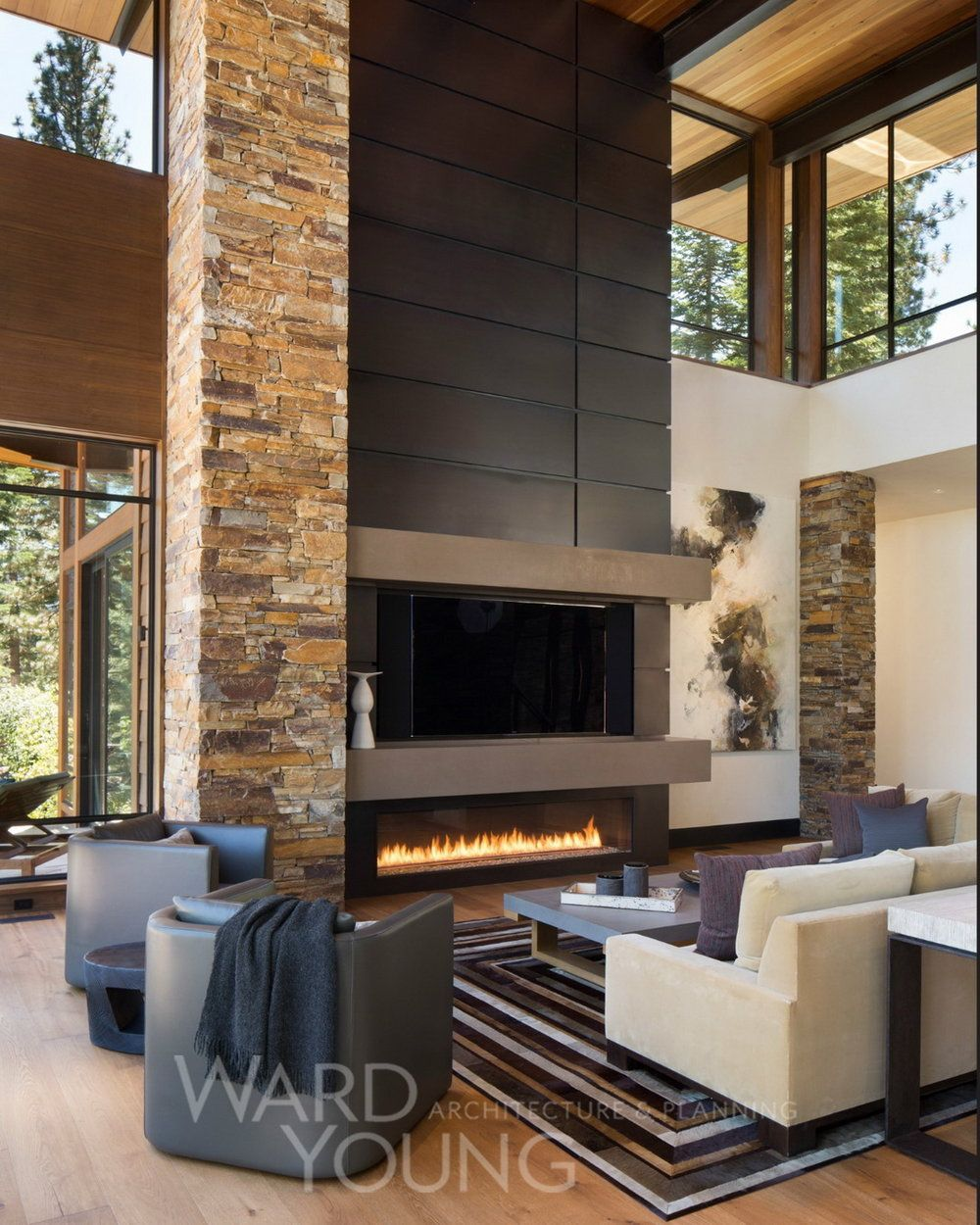 Montana Ranch House By Suyama Peterson Deguchi: Martis Modern Mountain Home By Ward Young Architecture