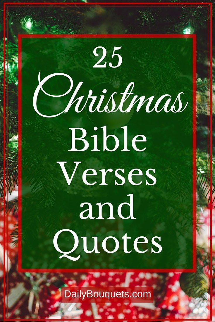 here are 25 christmas verses and quotes to use for crafts