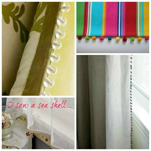 Beaded Trim For Curtains Google Search Trimmings And