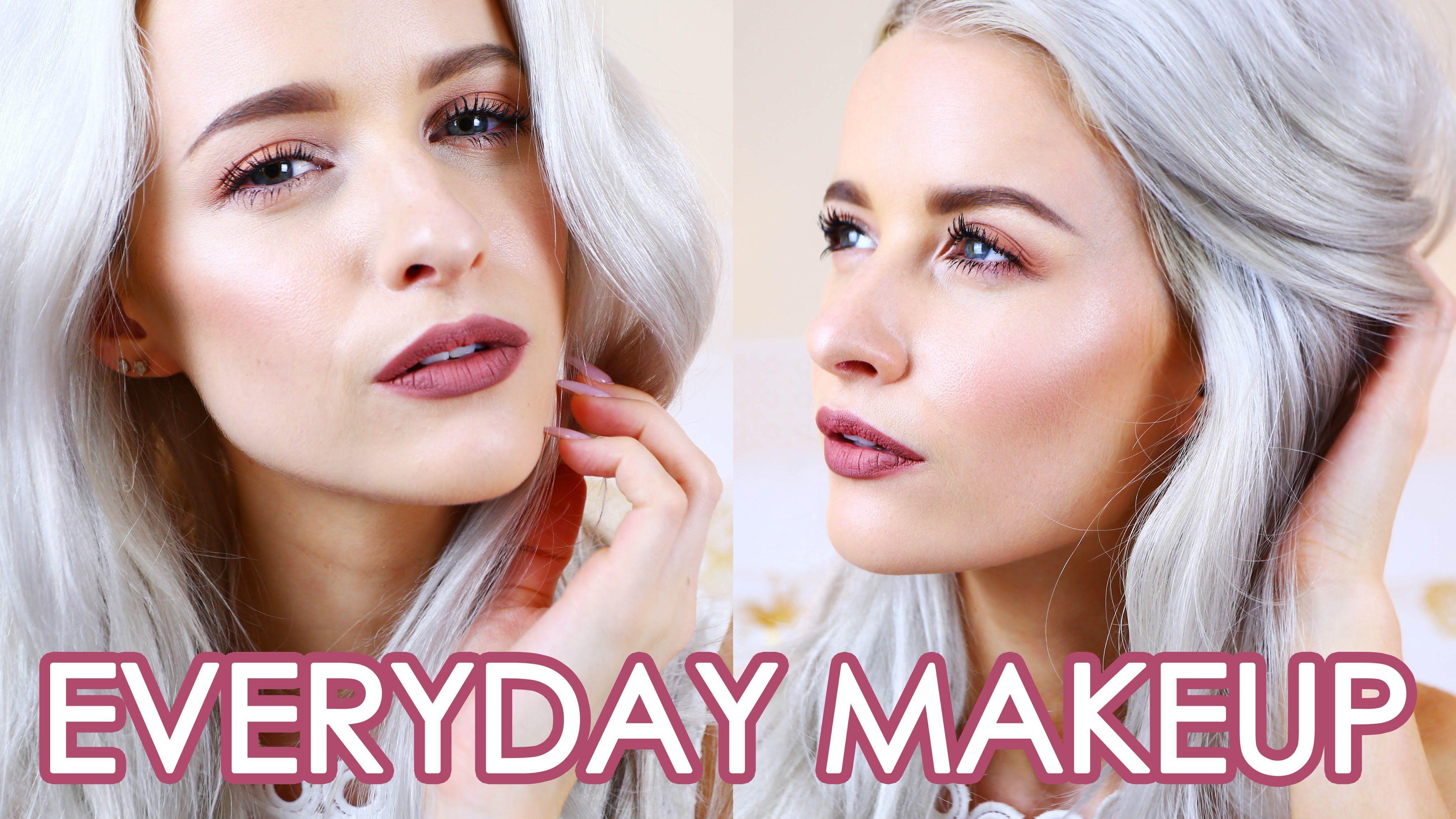 EVERYDAY MAKEUP ROUTINE Bronzed Dewy Skin Makeup