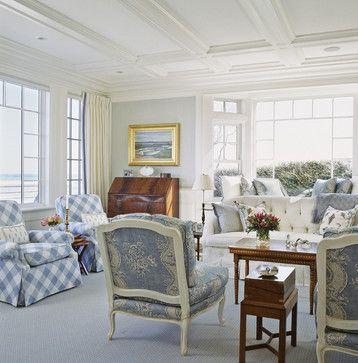 Chatham - traditional - living room - dc metro - Pamela Gaylin Ryder, Inc