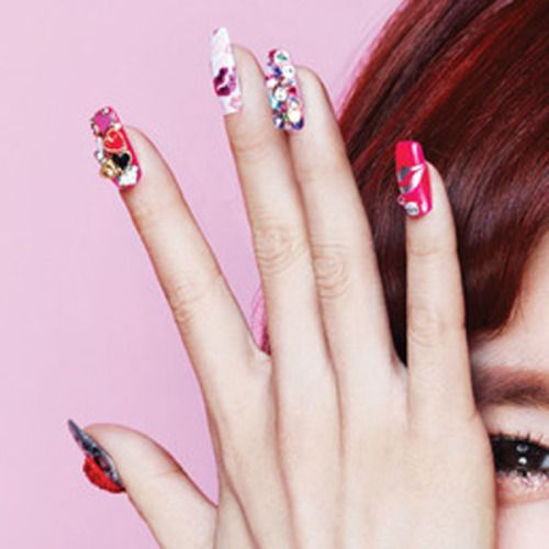 Tiffany nail design pinterest tiffany tiffanys nails in a casio baby g promotion picture prinsesfo Image collections