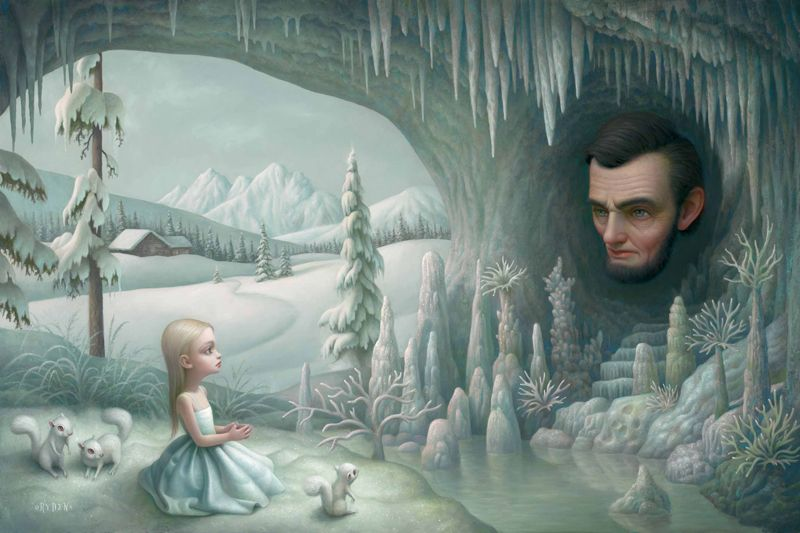 Mark Ryden - Grotto of the Old Mass                                                                                                                                                                                 Mais