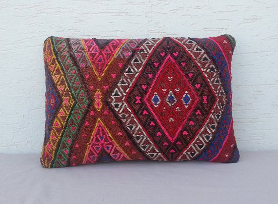FREE SHIPPING/Vintage Home Decor Handwoven Turkish by pillowsstore, $69.00