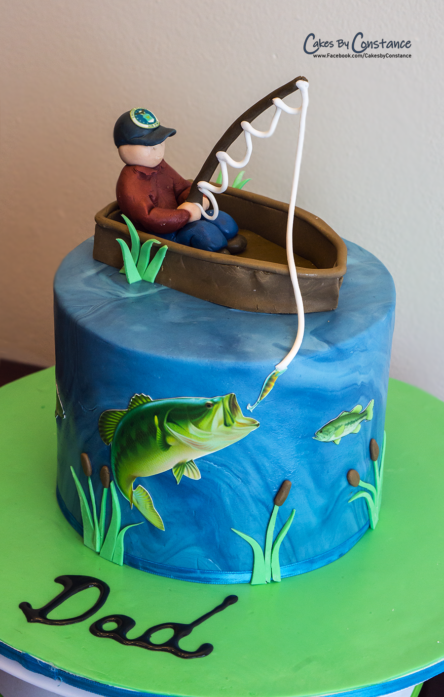Superb Fishing Cake With Images Fish Cake Birthday Fish Cake Funny Birthday Cards Online Elaedamsfinfo
