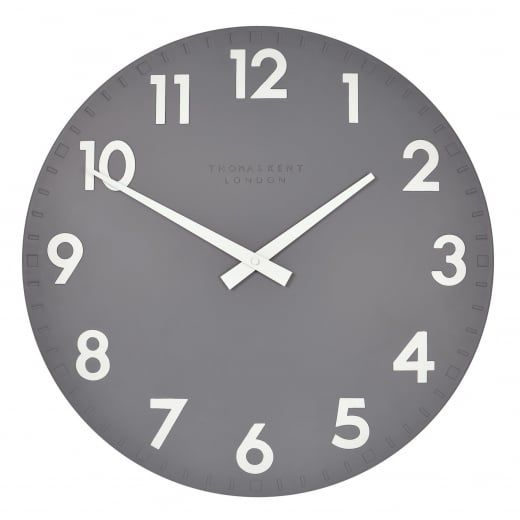 Thomas Kent Clocks Camden Wall Clock Slate Large Thomas Kent Clocks From Hurn Hurn Uk Wall Clock Blue Wall Clocks Clock