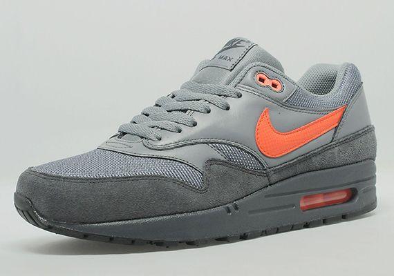 Nike Air Max 1 Anthracite/team orange