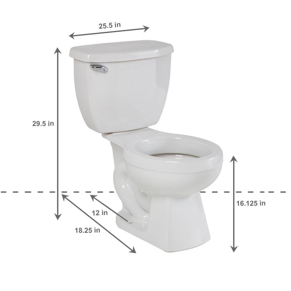 Surprising Niza Pro 2 Piece 1 28 Gpf Single Flush Round Toilet Without Theyellowbook Wood Chair Design Ideas Theyellowbookinfo