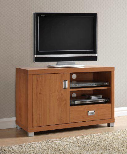 techni mobili tv stand with 1 drawer, maple techni mobili http ... - Mobili Tv Amazon