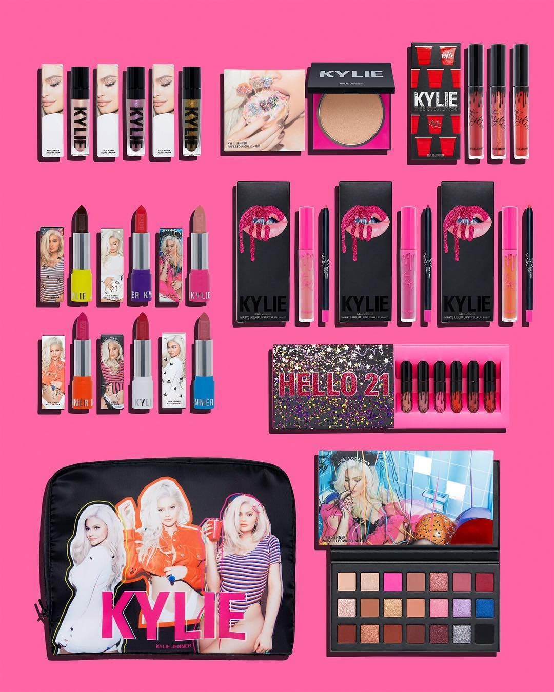 Win A Kylie Cosmetics Birthday Mega Bundle With Images Kylie