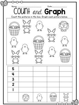 Easter Math Literacy Fun Packet With Images Easter Math