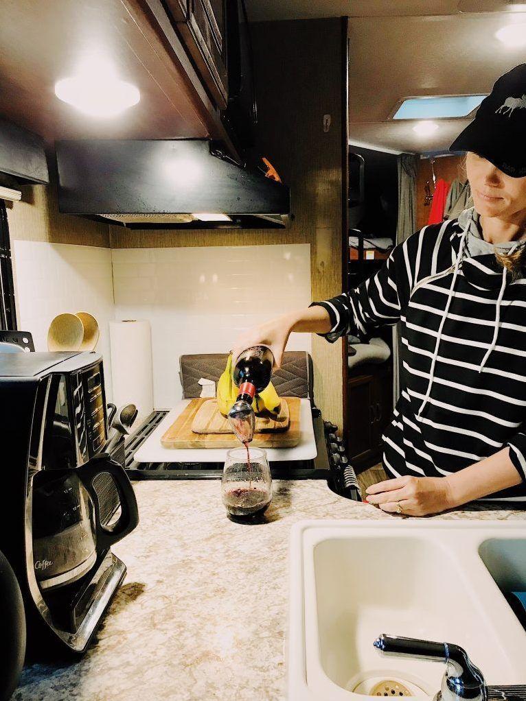 19 best camper trailer kitchens rv kitchen kitchen