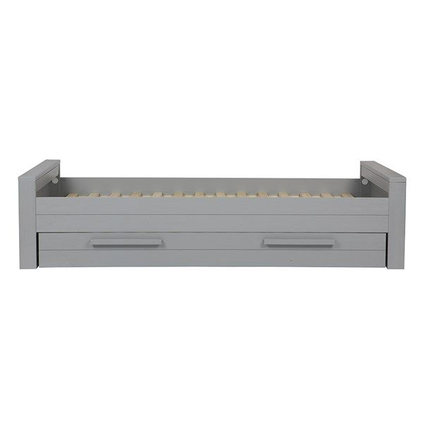 Woood Dennis Bed.Dennis Single Bed In Concrete Grey By Woood Single Bed In