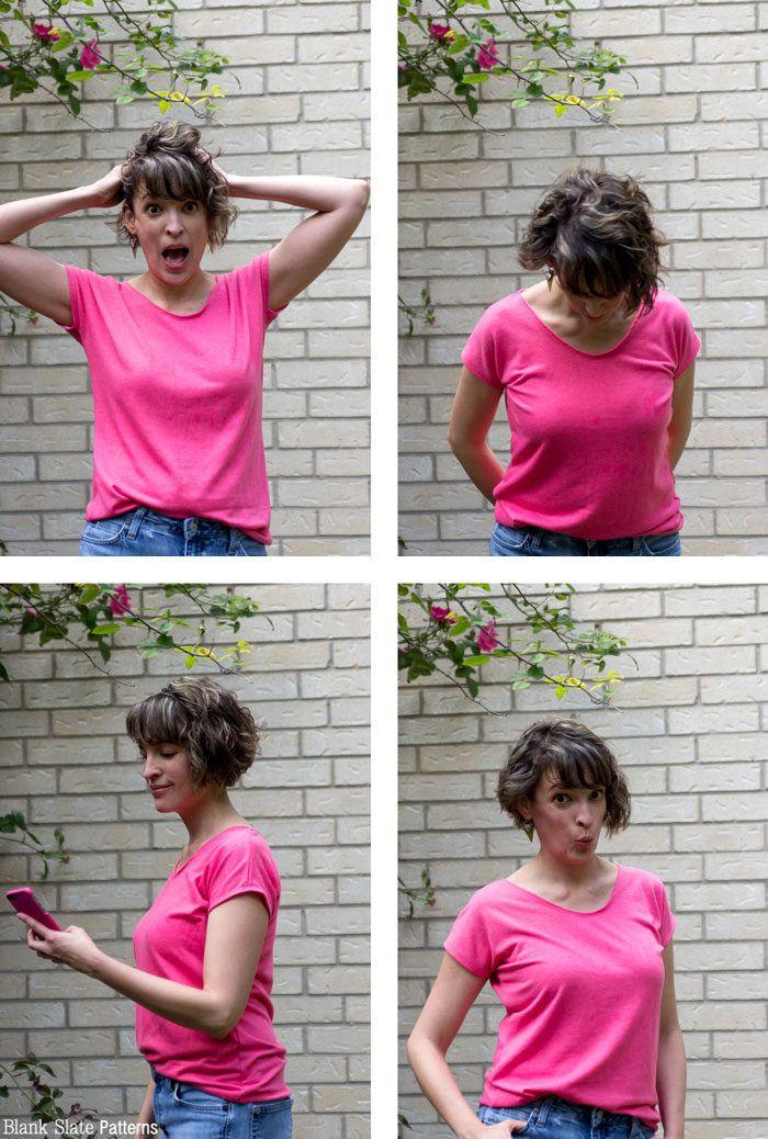 Introducing Blanc - Free Women\'s T Shirt Pattern | Slate, Sewing ...
