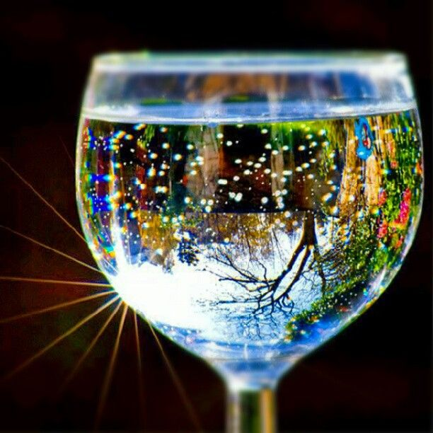 Beautiful scenic glass art.  How'd they do that?  #art #photoadayAug #simple beauty