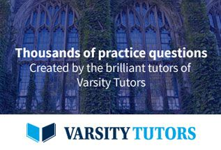 Varsity tutors offers practice tests and flashcards from