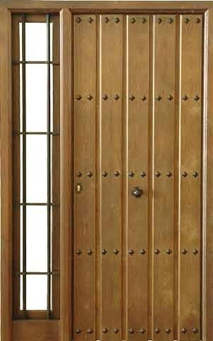 Puertas de exterior de madera precios buscar con google for Puertas rusticas exterior aluminio precios