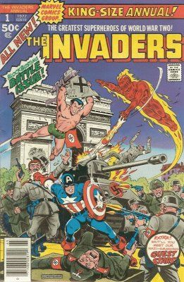 Marvels The Invaders Annual # 1