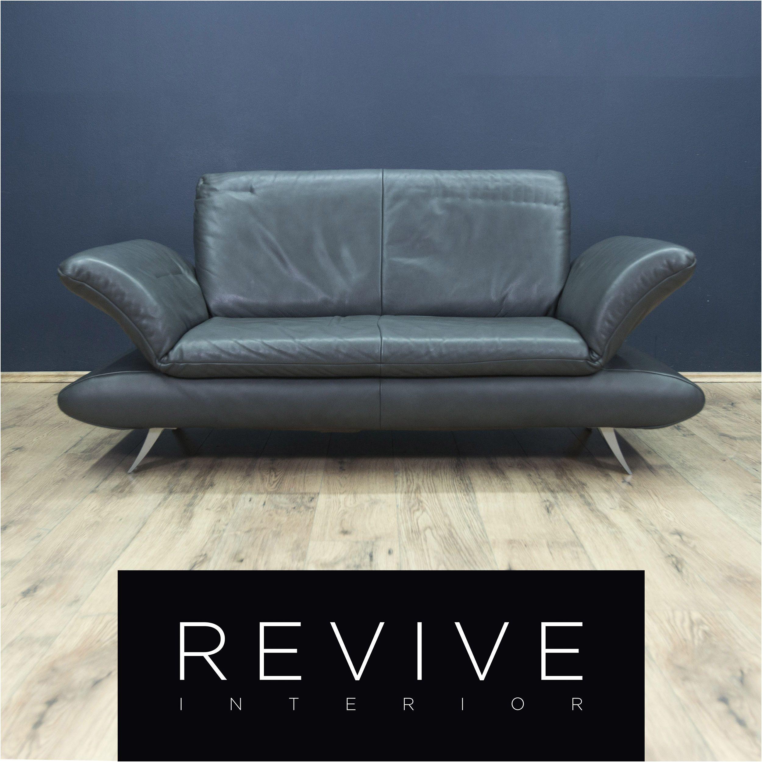 Koinor Rossini Designer Leder Sofa Grau Grun Petrol Zweisitzer Couch Modern Echteder Ledercouchgrun In 2020
