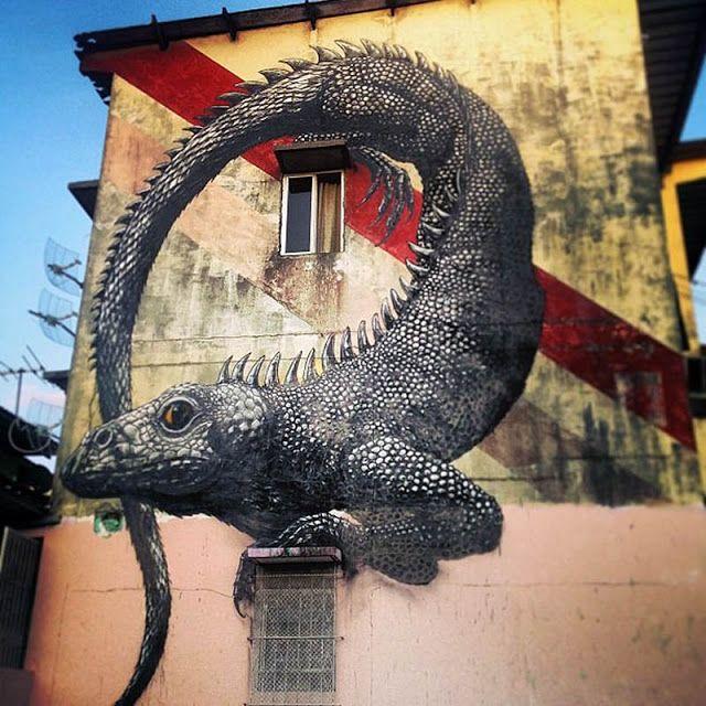 Street art in Panama
