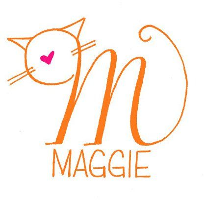 Maggie cat-love logo