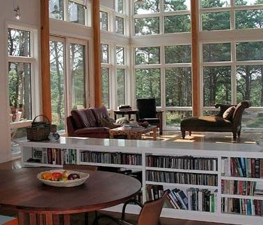 Attirant Bookshelf Room Divider