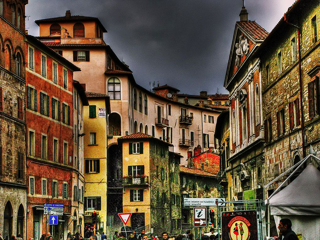 Perugia, Italy. Just another place I'd give a limb to
