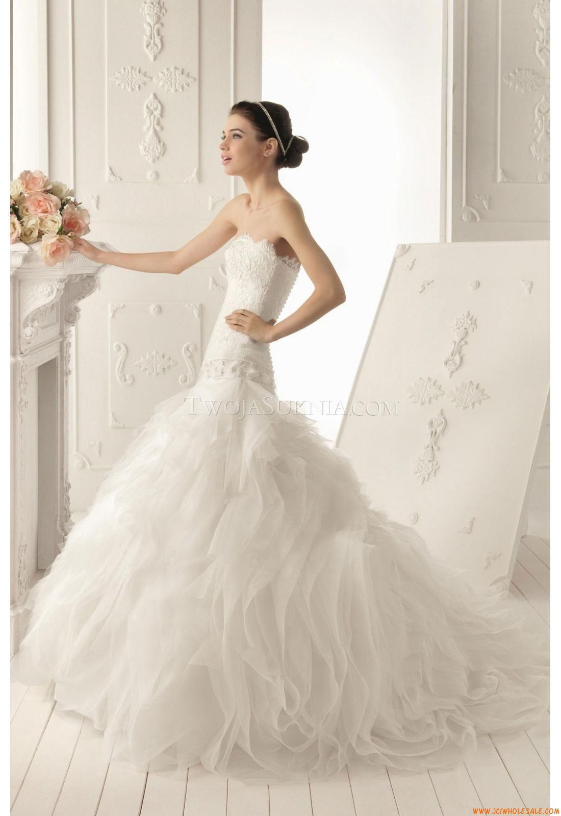 Aire barcelona wedding dresses  Robe de mariée Aire Barcelona  Rumor   Robe de mariée Aire