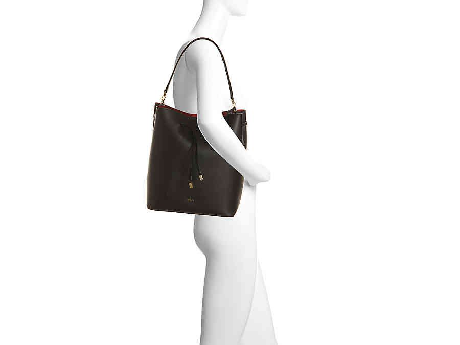 22070bac58 Lauren Ralph Lauren Dryden Debby Leather Shoulder Bag Women s Handbags    Accessories