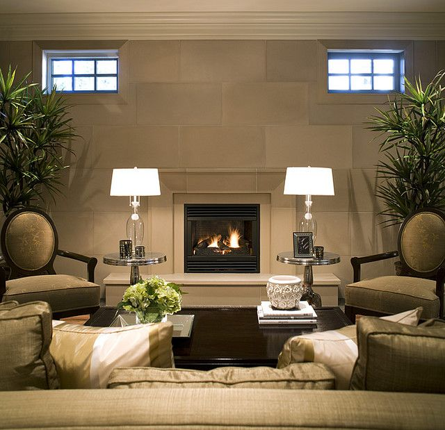 Taper Linen Cast Concrete Fireplace Mantel | Fireplace mantel kits ...