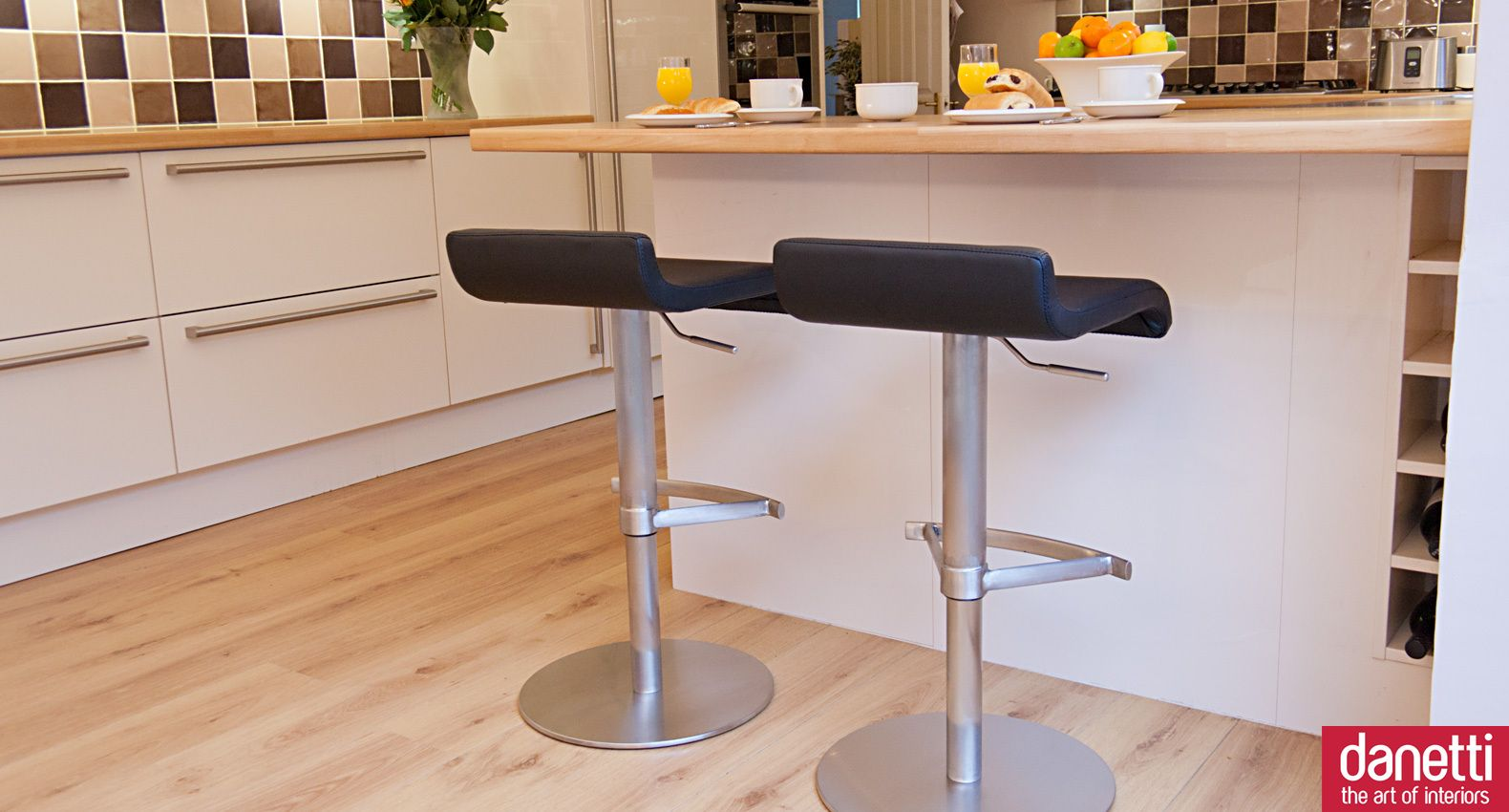The Fondi Bar Stool Is Comfortable And Curvy And Offers