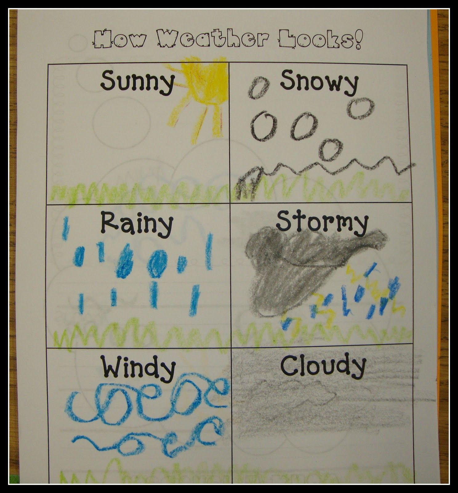 Today In First Grade Weather Could Make This Into A