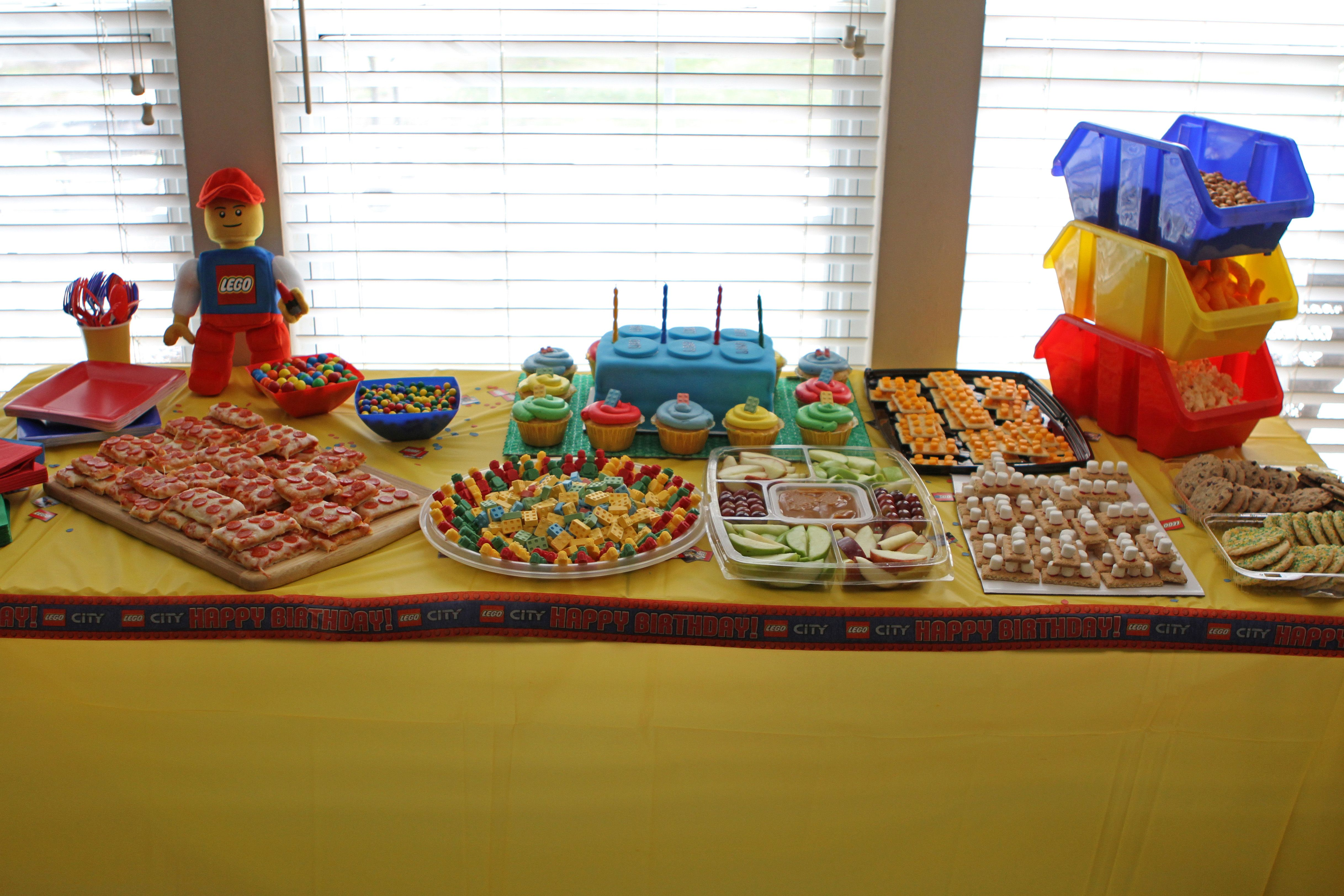 Food To Serve At A Lego Party