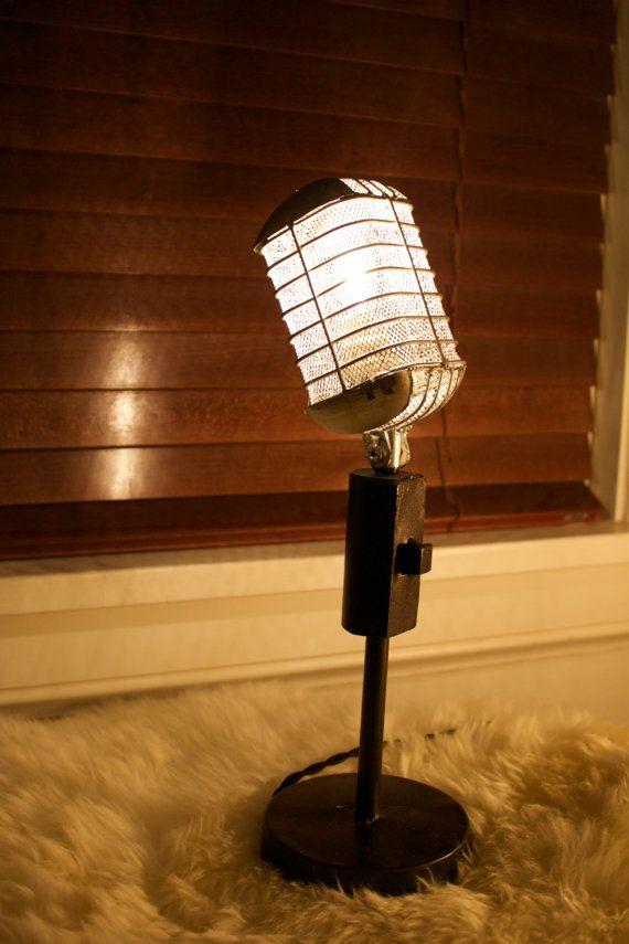 Buy vintage microphone light fixture by industrialighting for Kindermobel vintage