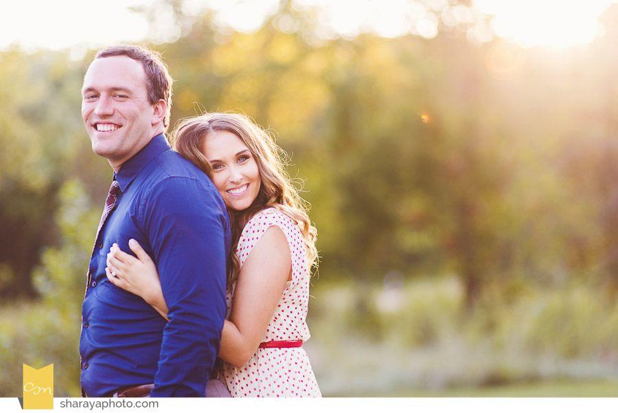 Engagement Photos,  Engagement in a field www.Sharayaphoto.com