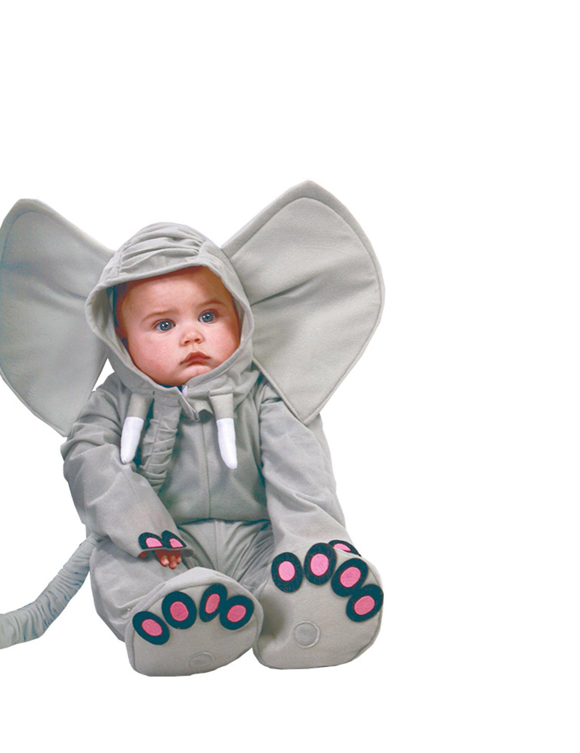 f769fede1ea Kostume elefant grå til baby | Fastelavn | Kostumer, Baby og Elefant