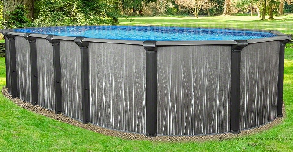 12 X21 X52 Boreal Oval Pool Above Ground Pools Oval Pool In Ground Pools Best Above Ground Pool