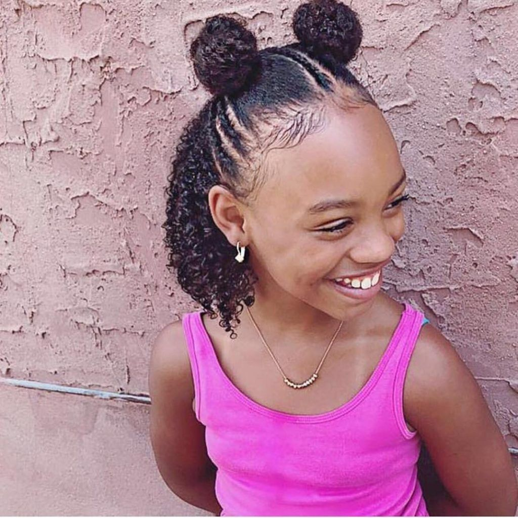 Braided Hairstyles For Kids: 43 Hairstyles For Black Girls - Click042 #girlhairstyles