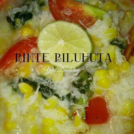 Resep Binte Biluhuta Gorontalo Dandelion Oleh Yene Dandelion Resep Makanan Masakan Resep Masakan