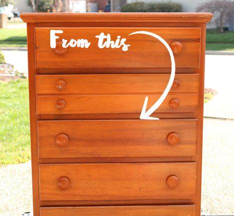 Vintage Dresser Diy Coastal Cottage Style Behrvintage Dresser Diy