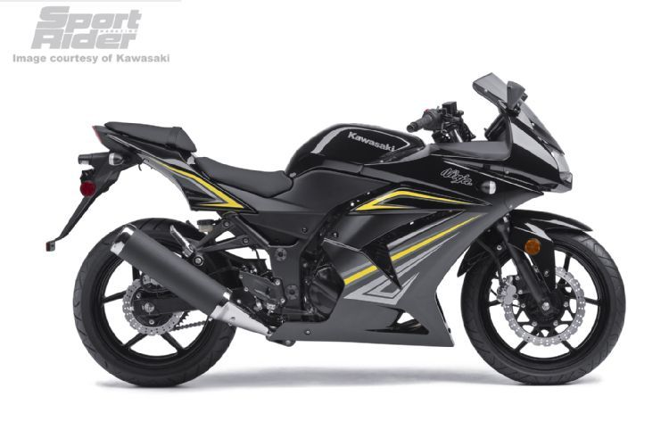 2012 Kawasaki Ninja 250r Black And Yellow Drive Kawasaki Ninja