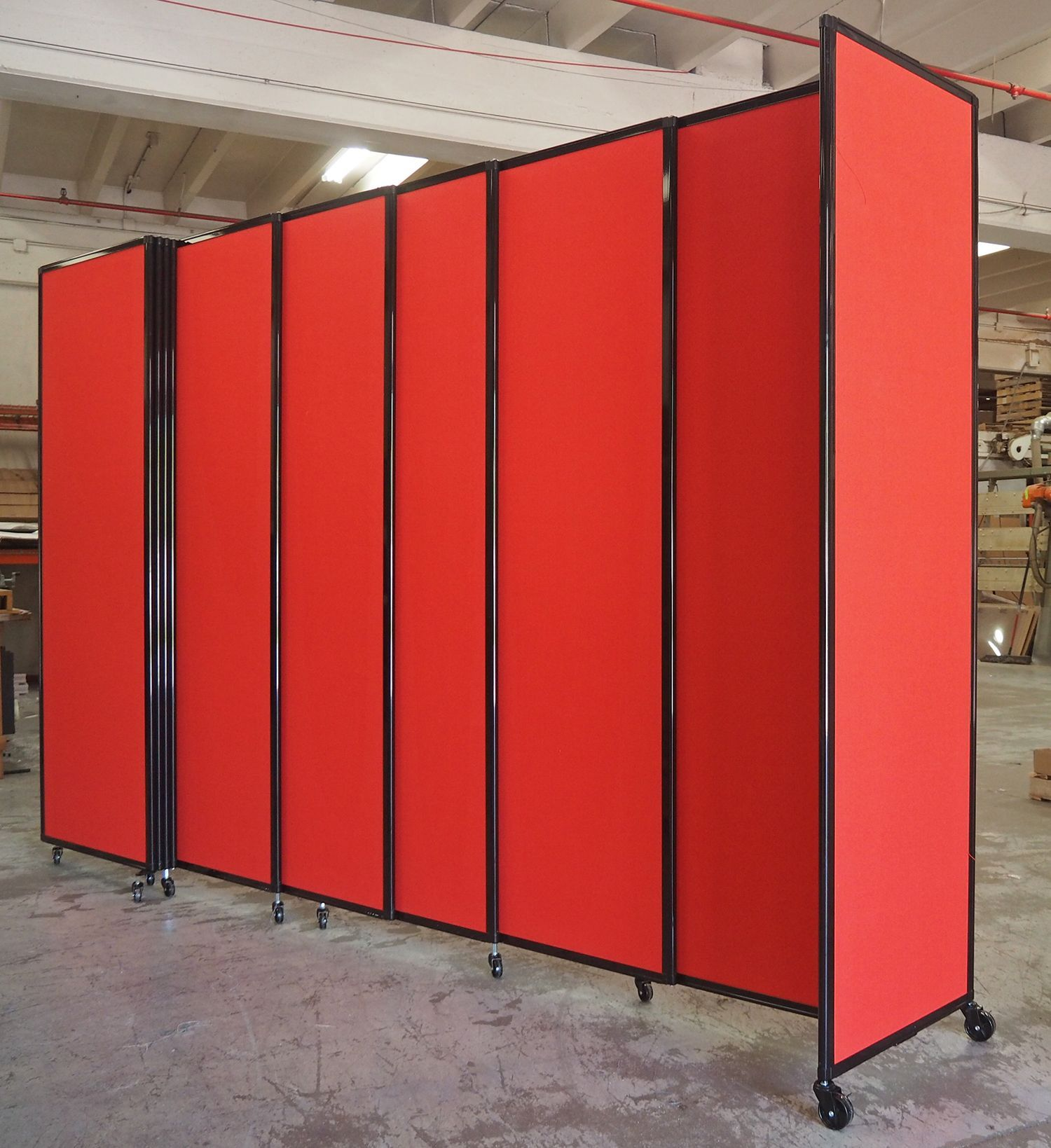 Hereus a slick red straightwall wallmount we just finished up and