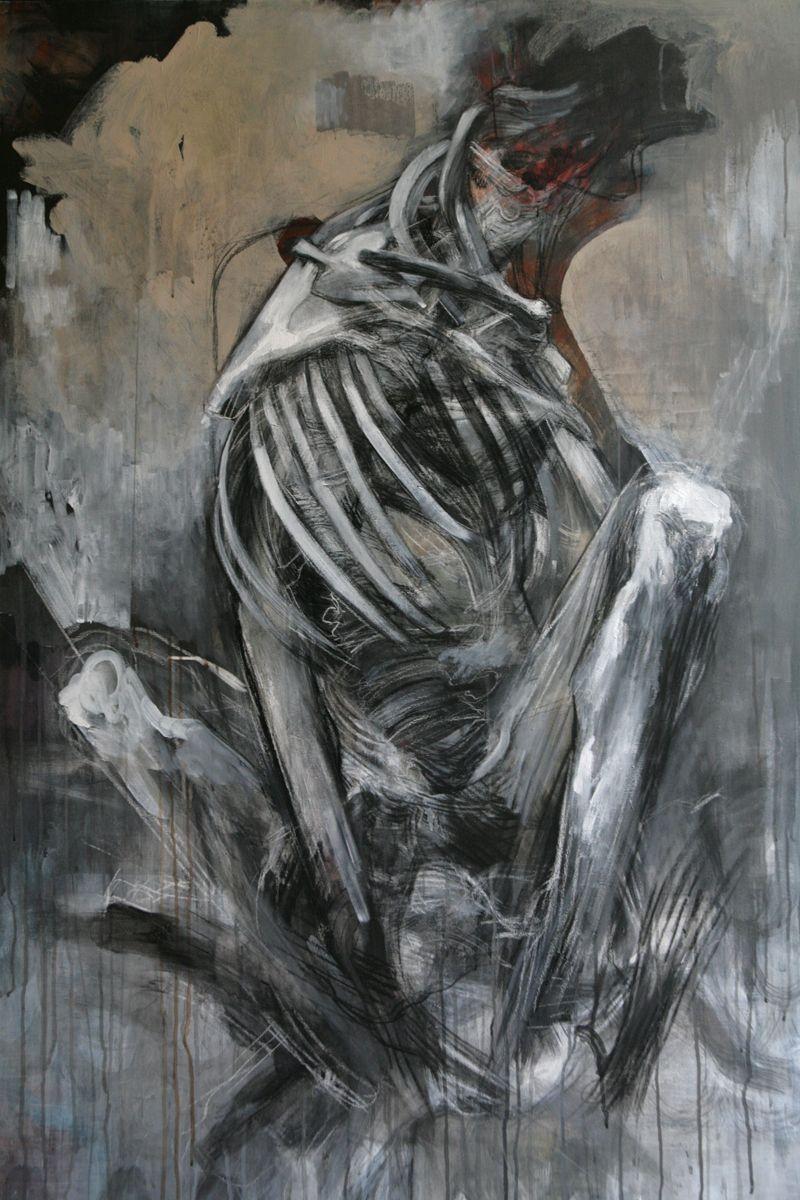 Jean Francois . Art Dark Paintings Painting