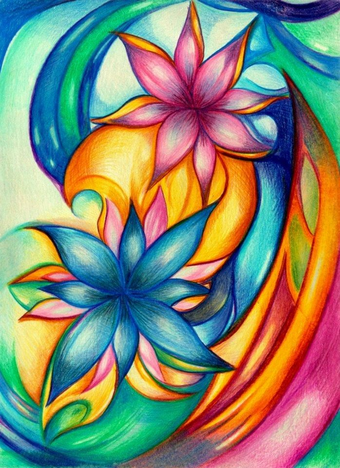 Slikanje Na Svilo Abstract Art Painting Pen Art Drawings