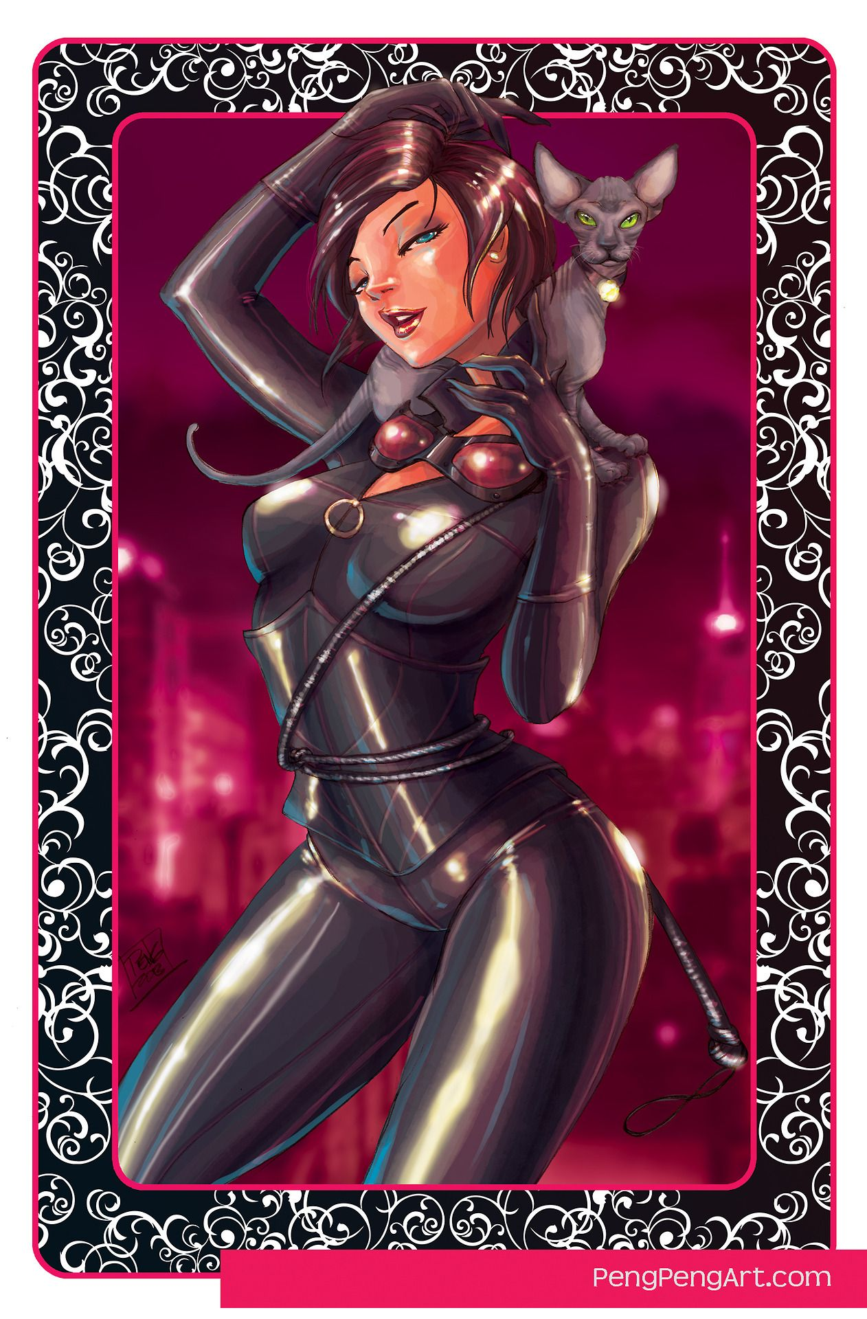 Gotham's Sirens call: Catwoman by Penelope Gaylord